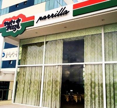Torre de Pizza Parrilla | Foto Divulgação