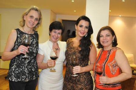 Maria Ignácia, Paula Gaya, Livia Lopes e Ana de Andrade | Foto: Divulgação