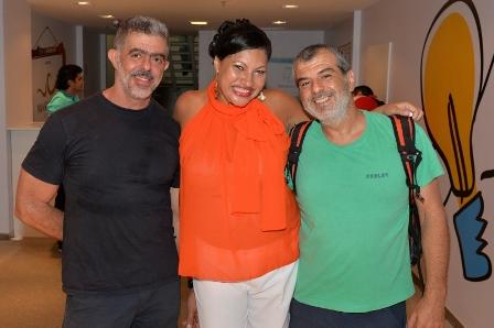 Almir Jr., Marta Góes e Marcelo Gomes | Foto Divulgação