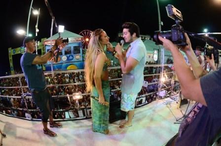 Claudia Leitte e Luan Santana | Foto Fred Poontes/Divulação