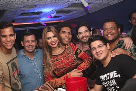 Battata, Topera, Vina Calmon, Denny, Kiko Sali, Berguinho e Dan Miranda | Foto Uran Rodrigues