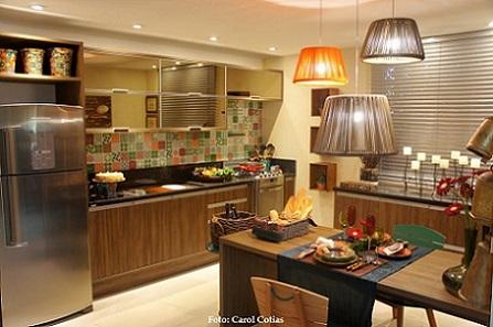 Cozinha | Foto Carol Cotias