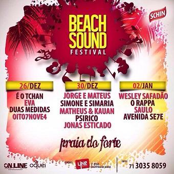 Beach Sound Festival | Foto Divulgação