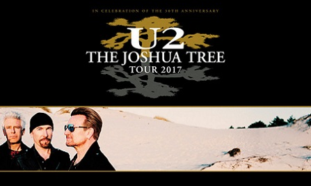 U2 Joshua Tree Tour 2017