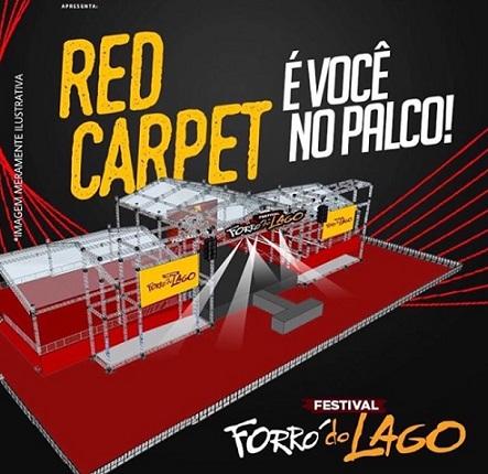forró do Lago - Red Carpet